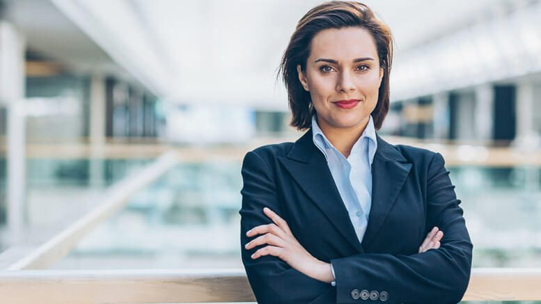 Photo of a businesswoman