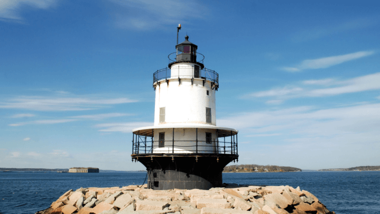 Light House in South Portland