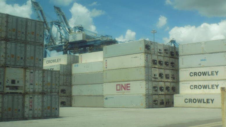 Cargo at Port of Wilmington