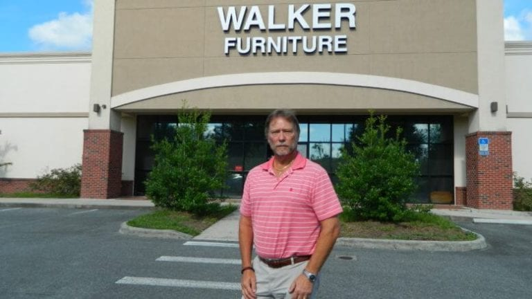 Jeff Smith is general manager of Walker Furniture in Gainesville, Fla.