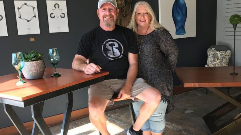 Silverhammer Design opened July 26 in Wilmington, N.C., offering owners Dennis and Lorrie Brewer's handcrafted furniture and artwork