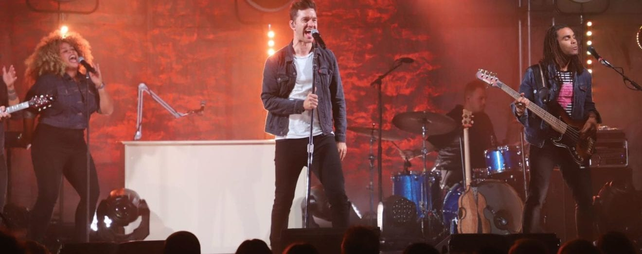 The 60th Anniversary Gala at Art Van Furniture's showroom in Warren featured an intimate performance by multi-platinum pop singer and songwriter, Andy Grammer. Announced during the event were the Charity Challenge winners including the Islamic Center of Detroit, which took first place.
