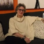 Photo shows Mary Liz Curtin at Leon & Lulu
