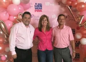 Picture shows the three owners of Howell Furniture