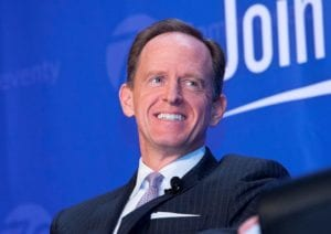 Photo shows sen. pat toomey
