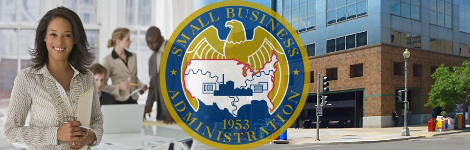 image shows small business administration logo