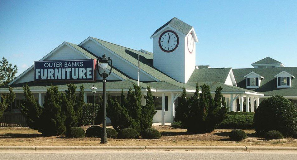 Photo shows Outer Banks Furniture store
