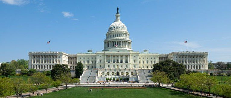 Image shows the U.S. Capitol