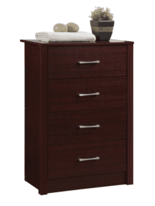 Image shows a chest of drawers