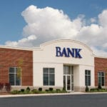Image shows a bank