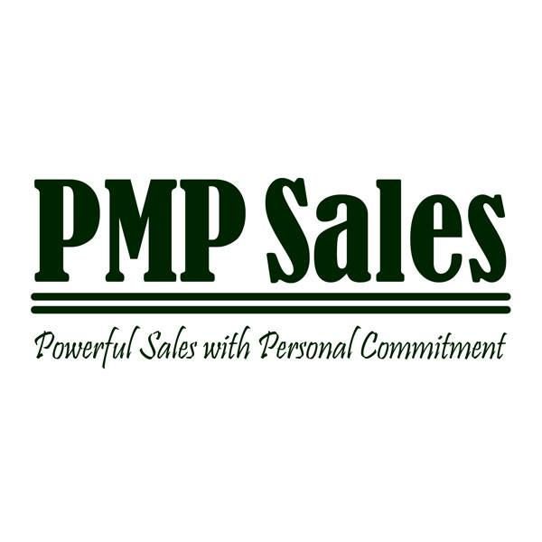 Image shows a logo for PMP Sales