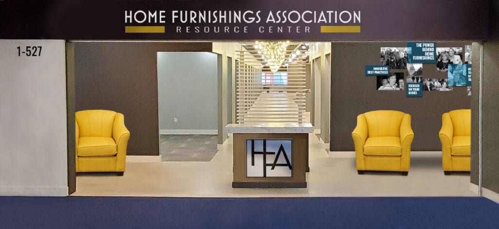 Image shows a showroom entrance