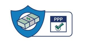 Image shows a PPP logo