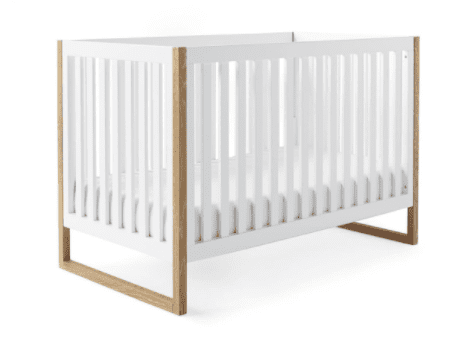Image shows a crib