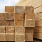 Photo of timber ready for manufacturing